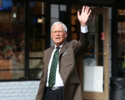 Late night show host David Letterman was able to remain on television until well into his 60s. Photo: Getty