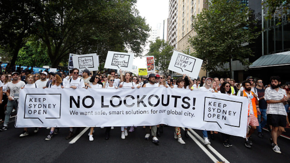 Baird Government relaxes lockout laws
