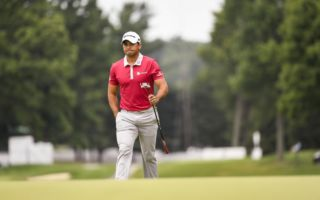 Jason Day was on track for a fourth win of the year before his collapse