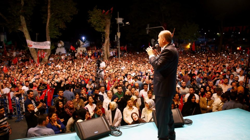 The Turkish president has been a big winner from the failed coup.