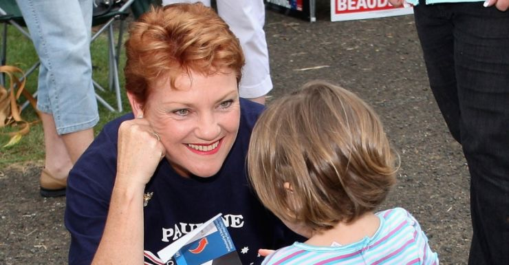 Pauline Hanson says parents should think twice before vaccinating their children.
