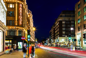 Harrods of London: cheaper for Aussie-dollar shoppers. Photo: Getty.