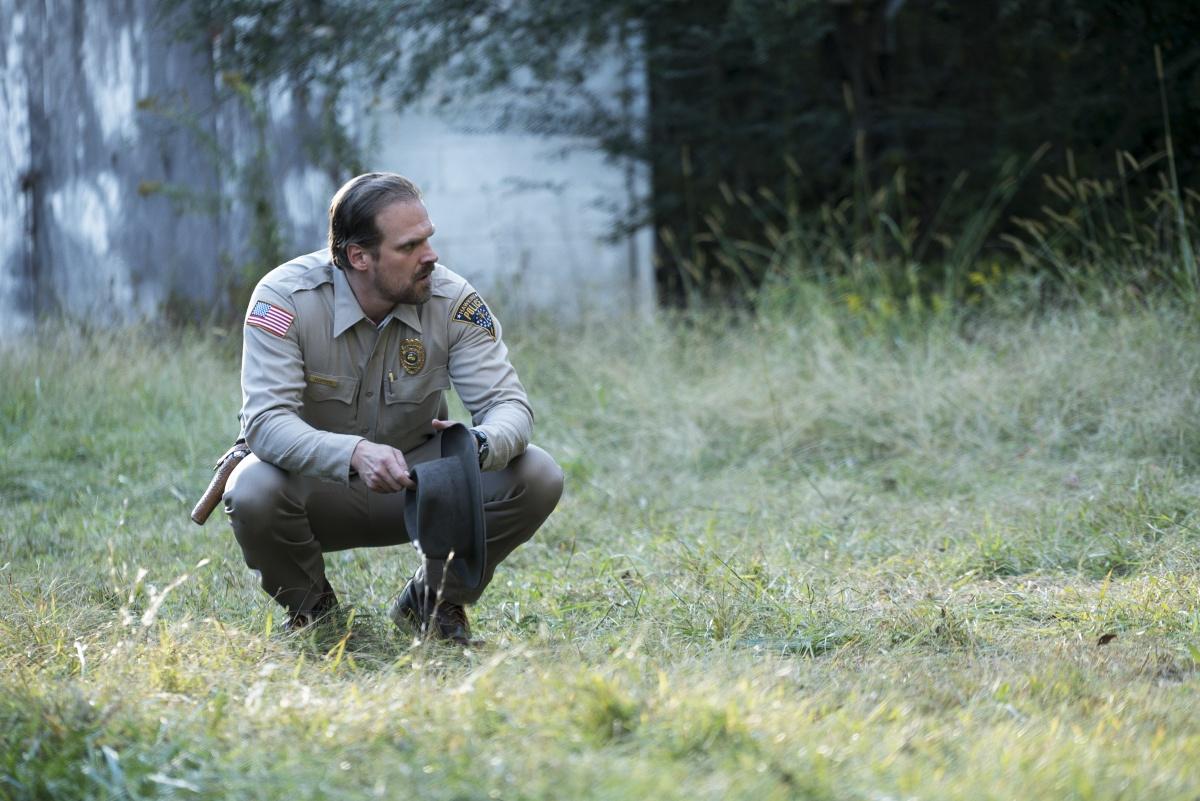 David Harbour as Chief Hopper. Photo: Netflix