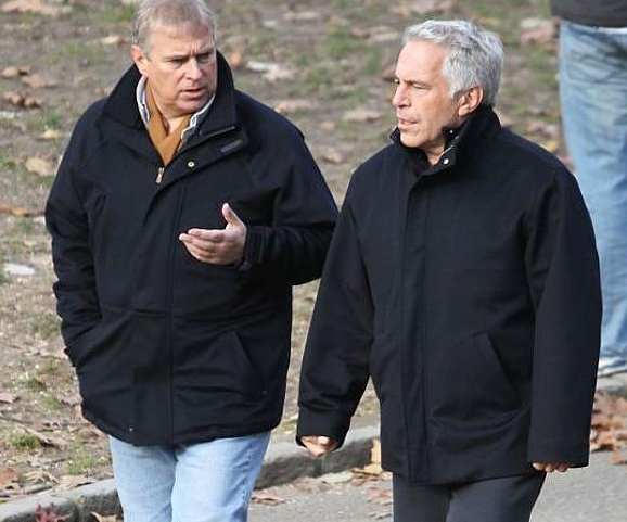 Prince Andrew has been questioned over his friendships with Epstein. Photo: Twitter