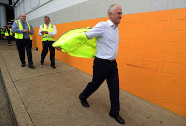 Prime Minister Turnbull must throw off the sloganeering past. Photo: AAP.