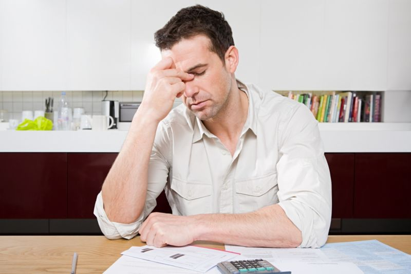 Household debt's aworry. Photo:Getty