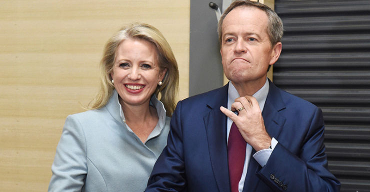Bill Shorten and wife Chloe