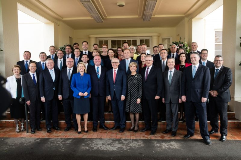 It's not all smiles in the new government. Photo: AAP