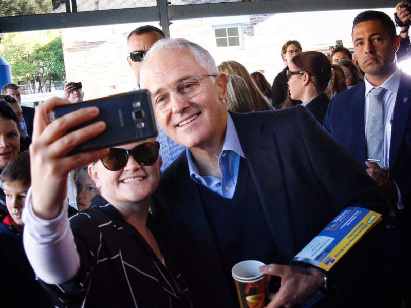 Turnbull in Wentworth