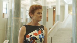 A new documentary paints Pauline Hanson as a manipulated commodity.