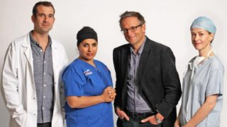 From left: Dr Chris van Tulleken, Dr Saleyha Ashan, Dr Michael Mosley and Gabriel Weston.