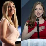 trump clinton daughters