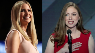 trump clinton daughters