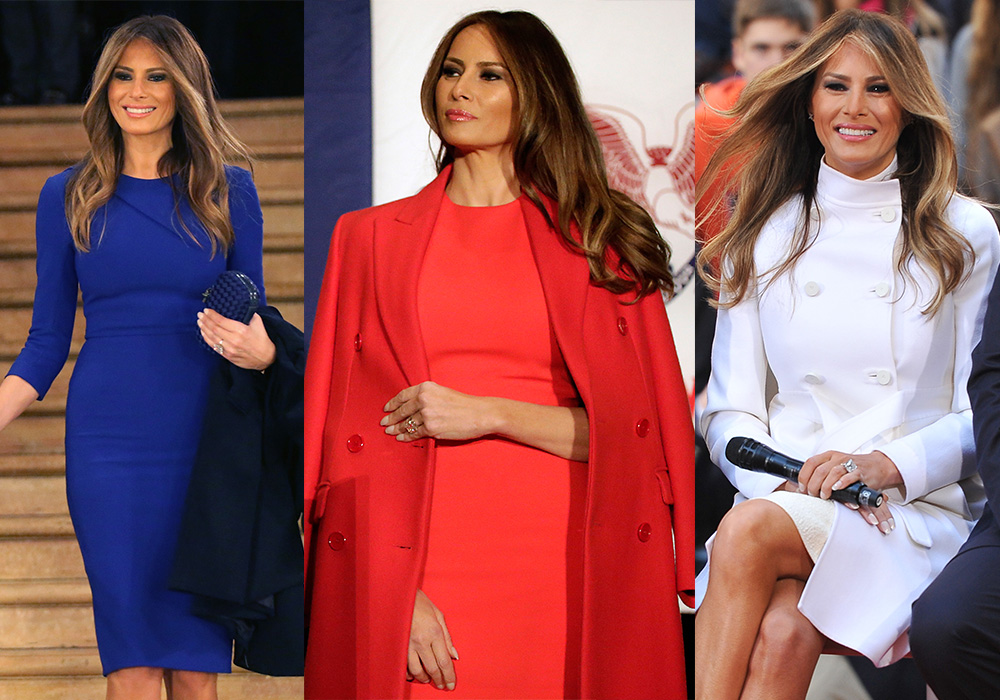 The United States of Melania. Photo: Getty