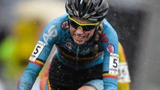 Van den Driesche riding before her ban. Photo: Getty