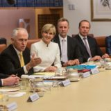 Malcolm Turnbull Liberal Party Cabinet Meeting