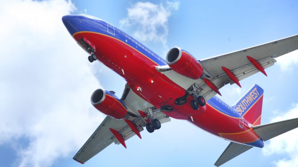 Southwest flight diverted to Pensacola after engine problem