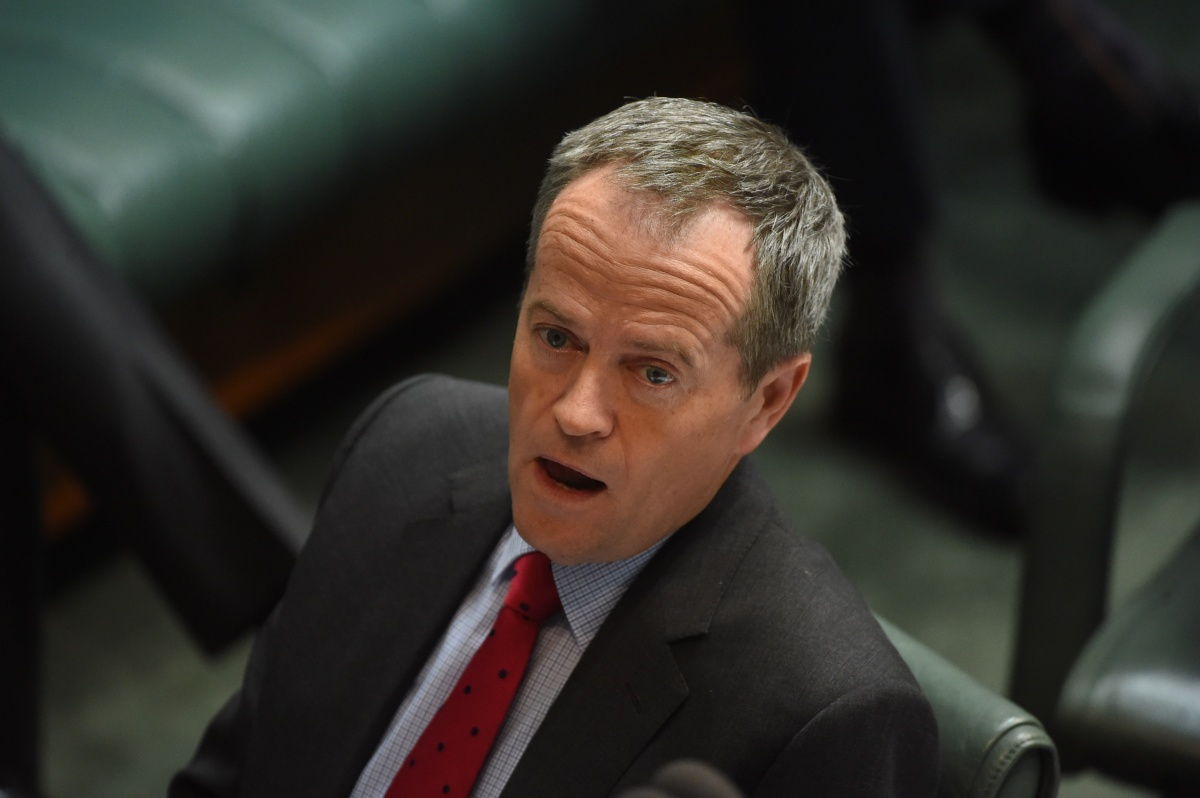 Mr Shorten used Question Time to quiz the PM on the book's claims. Photo: AAP