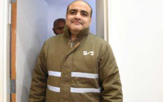 World Vision official Mohammed El Halabi
