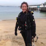Marine scientist Samantha Goyen