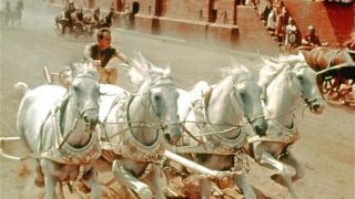 The chariot scene is arguably one of the greatest in history.