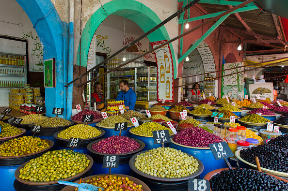 Morocco is famed for its souks, or open markets. Photo: Getty