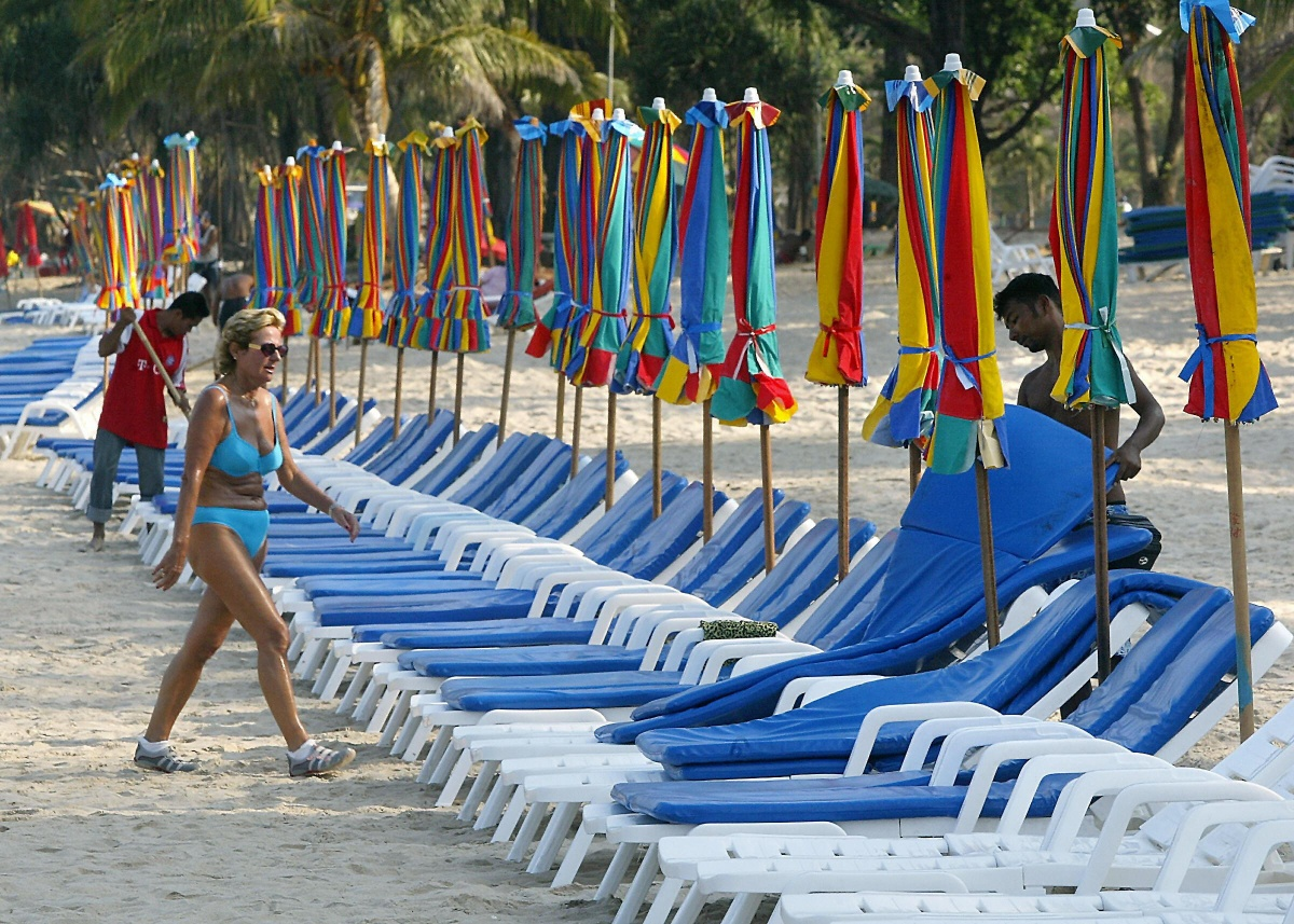 Patong Beach in Phuket is a popular tourist destination, especially for Australians. Photo: Getty