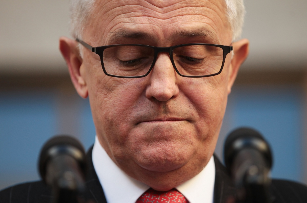 Malcolm Turnbull's first term as an elected PM won't be easy. Photo: Getty