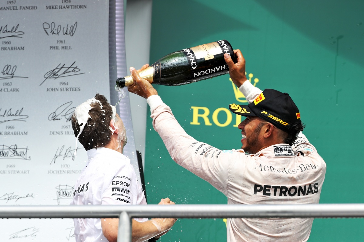 Lewis Hamilton WINS the German Grand Prix as Rosberg finishes fourth