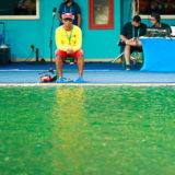 Rio Olympics diving pool