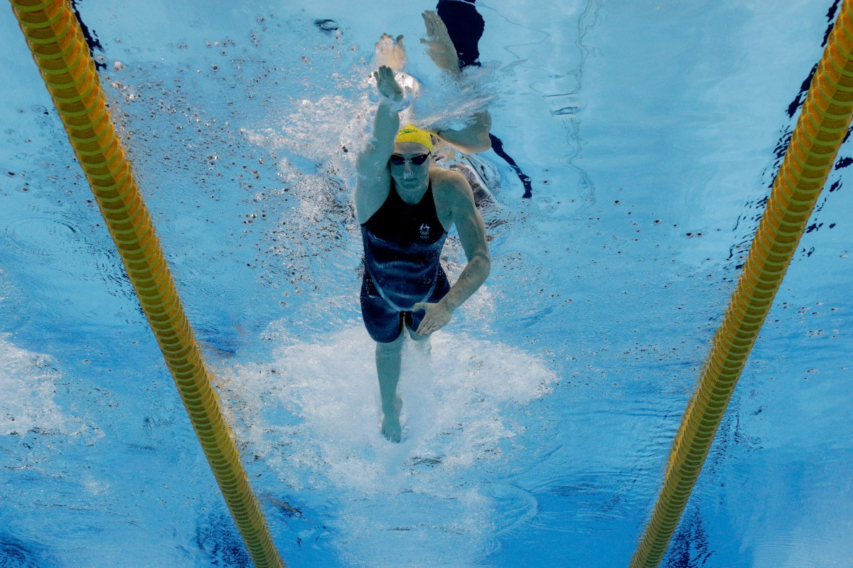 cate campbell swimming