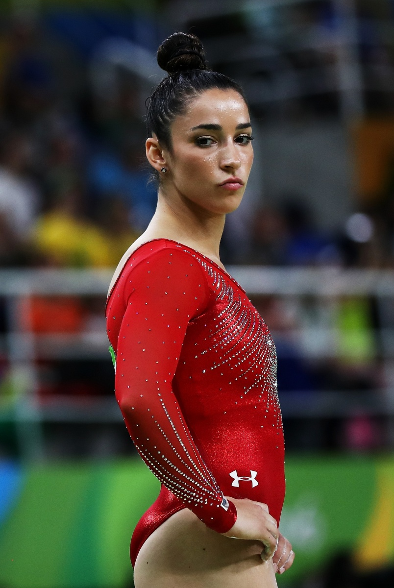 US gymnastics captain Aly Raisman feels powerful with makeup on. Photo: Getty