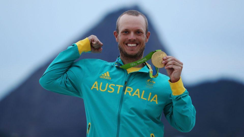 australian olympic sailing gold medal