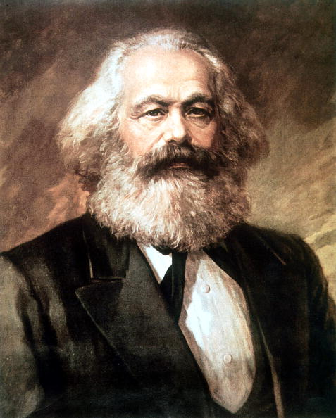 UNSPECIFIED - AUGUST 30: Karl Marx (1818-1883) german politician economist and philosopher one of the authors of Communist Party Manifesto (1848), here c. 1873, painting (Photo by Apic/Getty Images)