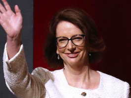 Former PM Julia Gillard: offered incentives for workers to move to high-growth regions. Photo: AAP.
