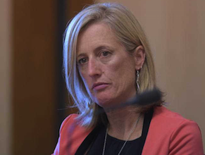 Shadow small business minister Katy Gallagher is included in the shadow cabinet. Photo: AAP.