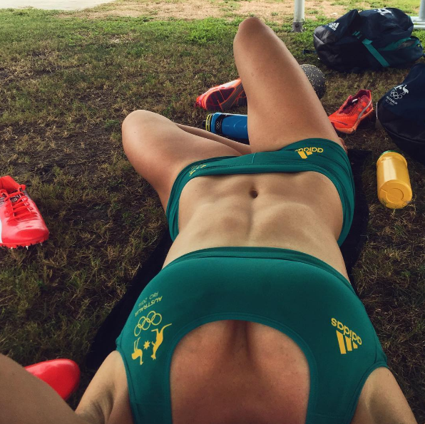 Michelle Jenneke shows off her assets. Photo: Instagram