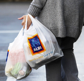 Nobody can accuse Aldi of being glamorous. Photo: Getty