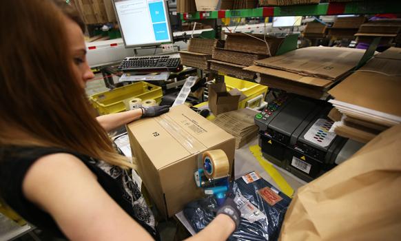 Amazon worker. Photo: Getty
