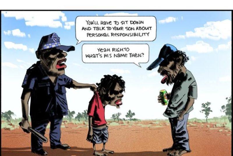 bill leak aboriginal cartoon