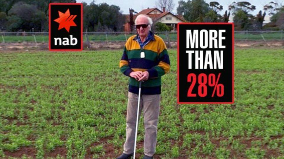 blind farmer via michael west