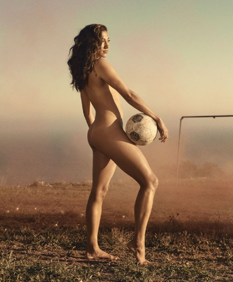 Footballer Christen Press has struggled with body confidence. Photo: ESPN
