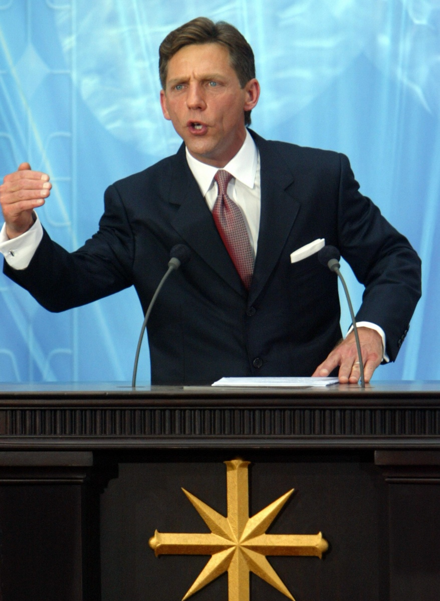 The elusive current leader of the church, David Miscavige. Photo: Getty