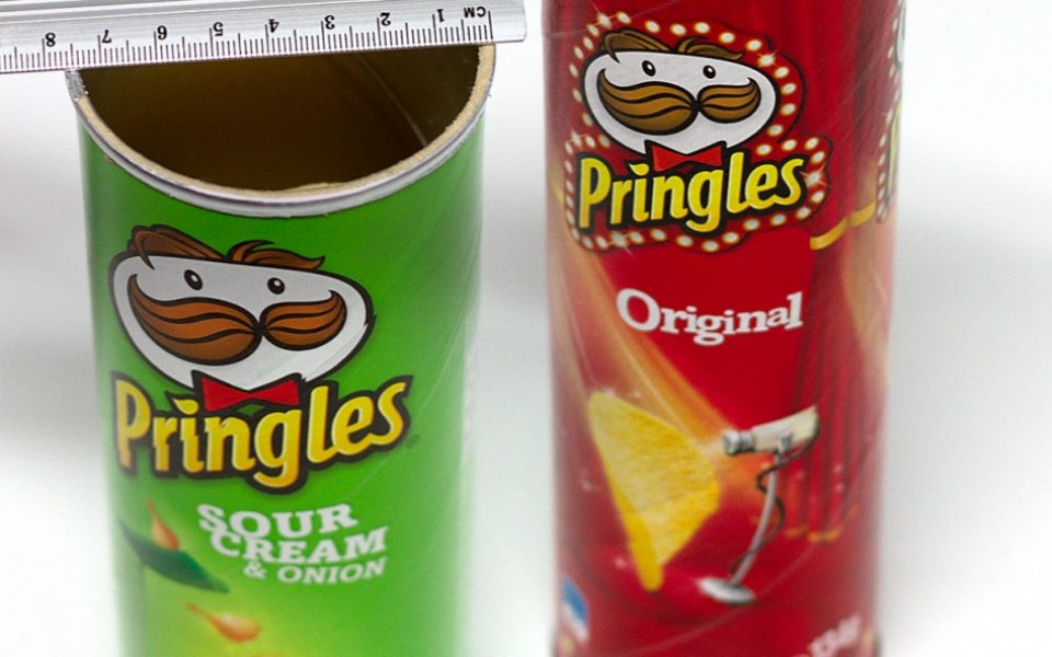 Fans furious new Pringles are 'smaller and tasteless'   The