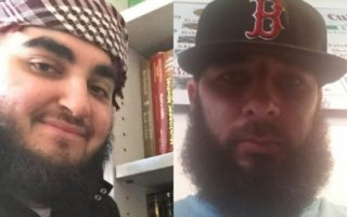 Ali Assaad (l) and Hussain Dandachi (r) have been arrested over child care fraud as part of a counter-terrorism investigation.