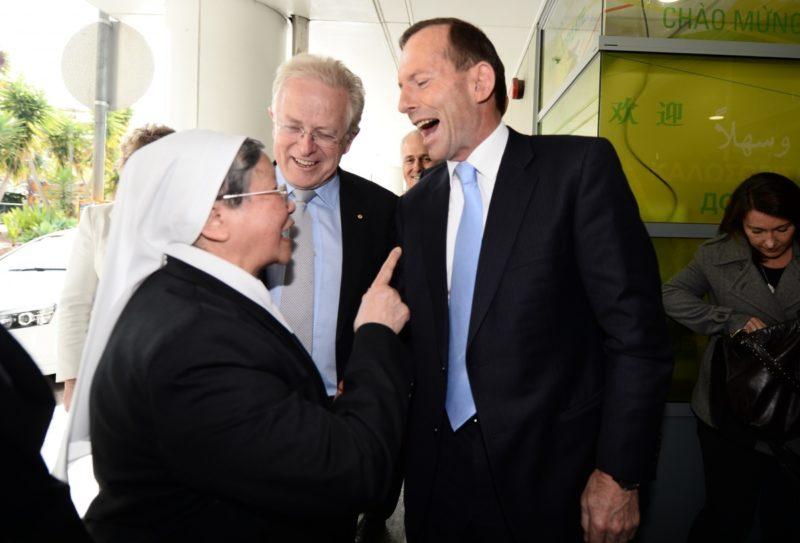 Former PM Tony Abbott won't reveal his original funding plan for the plebiscite. Photo: AAP.