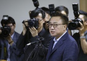 Koh Dong-Jin, president of Samsung,
