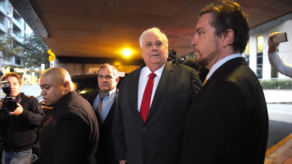 Clive Palmer security