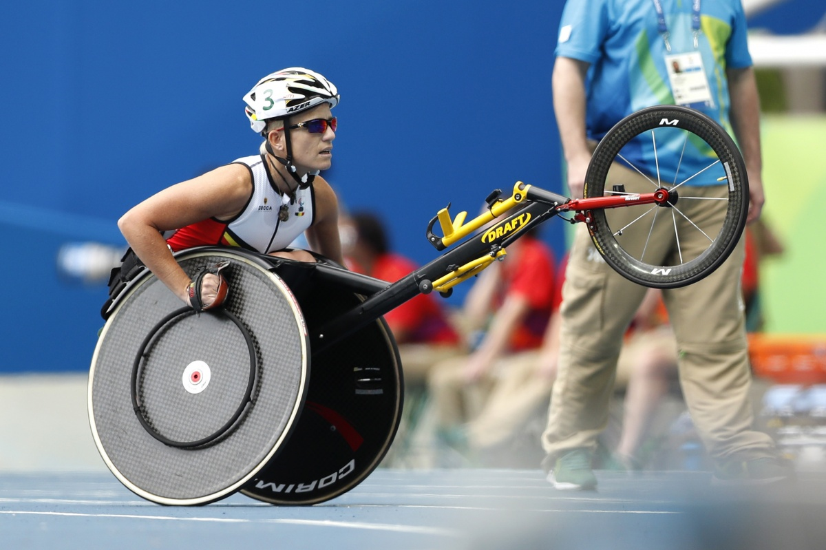 Some Paralympic athletes are competing in multiple sports