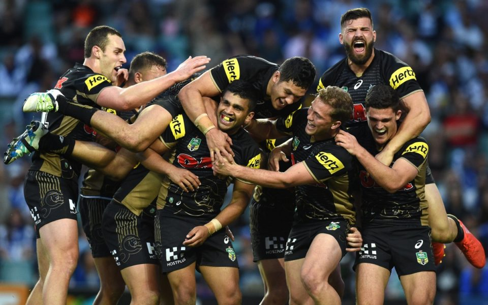 matt moylan leads panthers to win over dogs. Black Bedroom Furniture Sets. Home Design Ideas